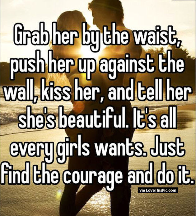 Grab Her By The Waist And Kiss Her Pictures Photos And Images For