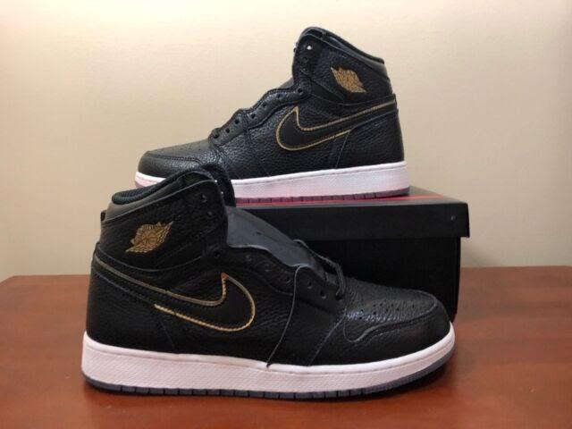 6bd64aff3db Air Jordans 1 Black And Gold - George's Blog