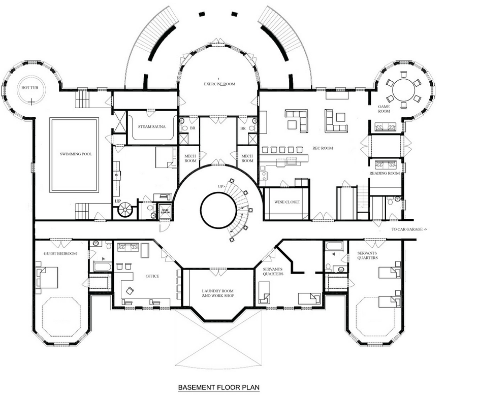 17 Blueprints For Mansions That Celebrate Your Search
