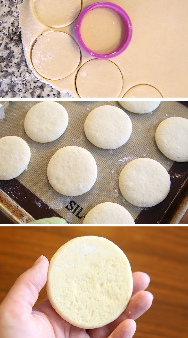 the best soft sugar cookie + cream cheese frosting recipe ...