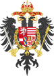 Middle Coat of Arms of Leopold I, Holy Roman Emperor.svg