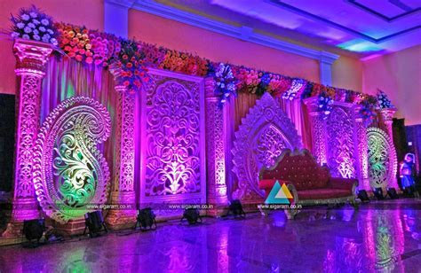 Reception and Wedding Decoration @ Shri Lalitha Mahal