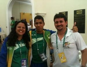 Gileno Souto acompanhou delegação do RN em Poços de Caldas (Foto: Cedida/Arquivo Pessoal)