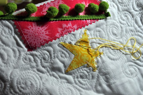 The Quilted Tree ~ Highlighting the Star