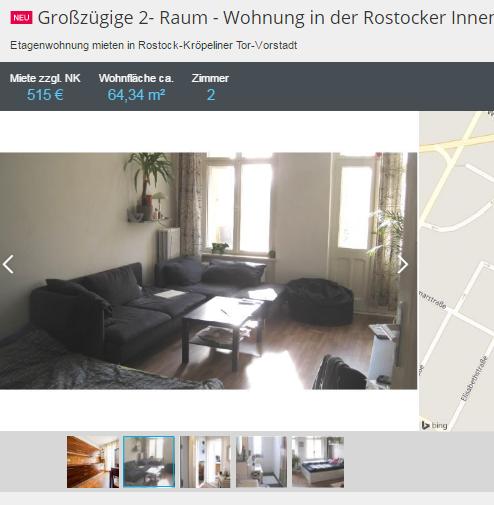 gro z gige 2 raum wohnung in der. Black Bedroom Furniture Sets. Home Design Ideas
