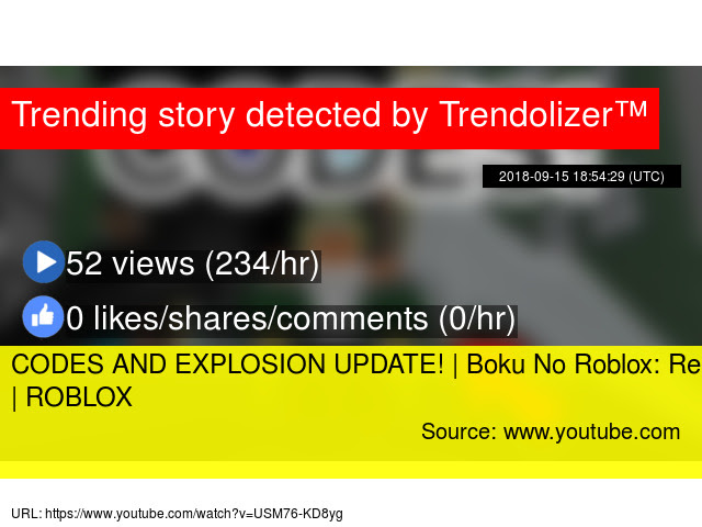 Codes And Explosion Update Boku No Roblox Remastered Roblox - roblox user stats
