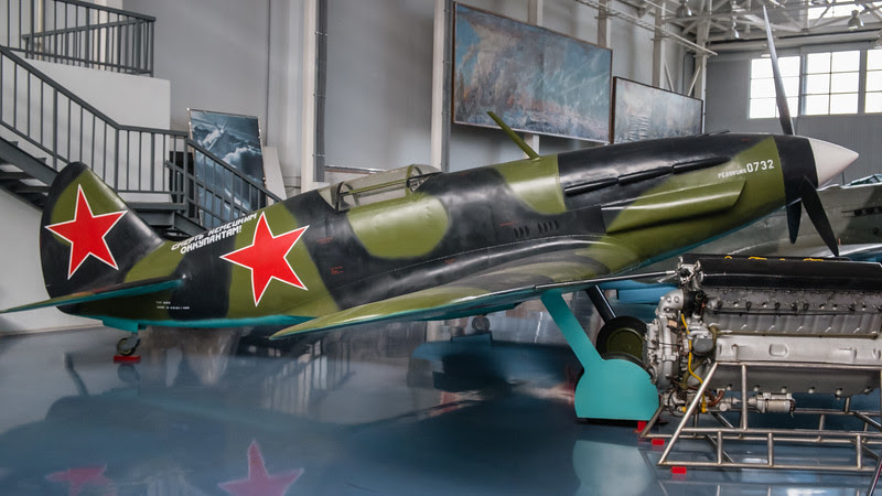 Mig-3 high altitude fighter