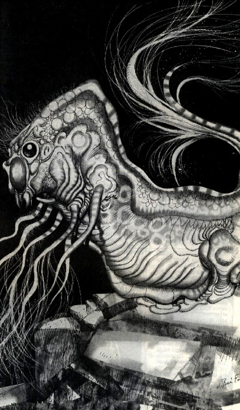 Josep M. Beá - Lovecraft Monster Gallery - 19