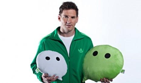 Brand Ambassador WeChat, Lionel Messi