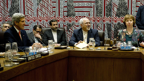 Iran-US-EU talks at the United Nations General Assembly on September 26, 2013. The Iranians called for a nuclear-free Middle East. by Pan-African News Wire File Photos
