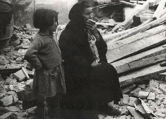 dos víctimas de la guerra civil
