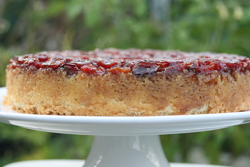 Food Librarian - Fresh Cherry Upside-Down Cake