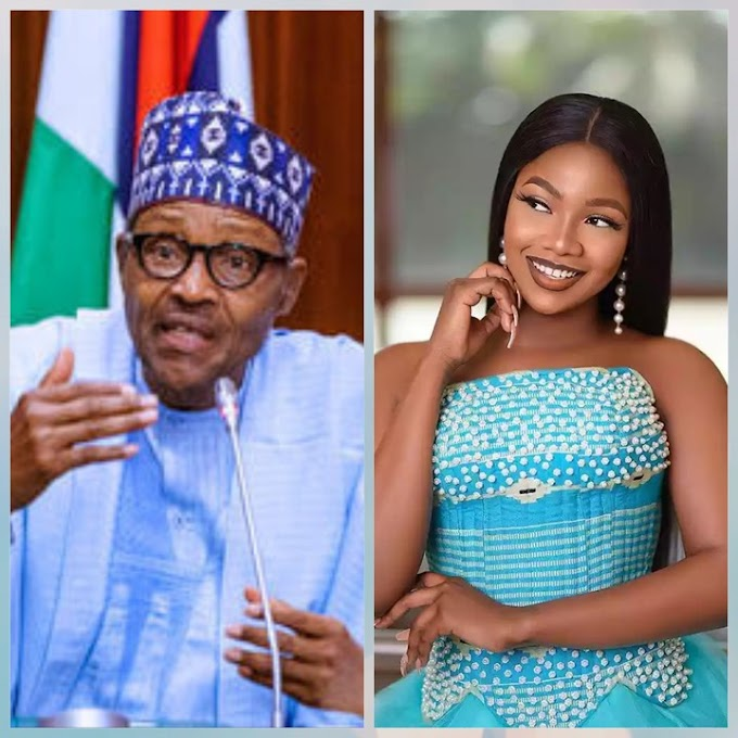 Tacha of Bbnaija dares President Buhari for insulting Nigerians with Twitter Address - Watch video