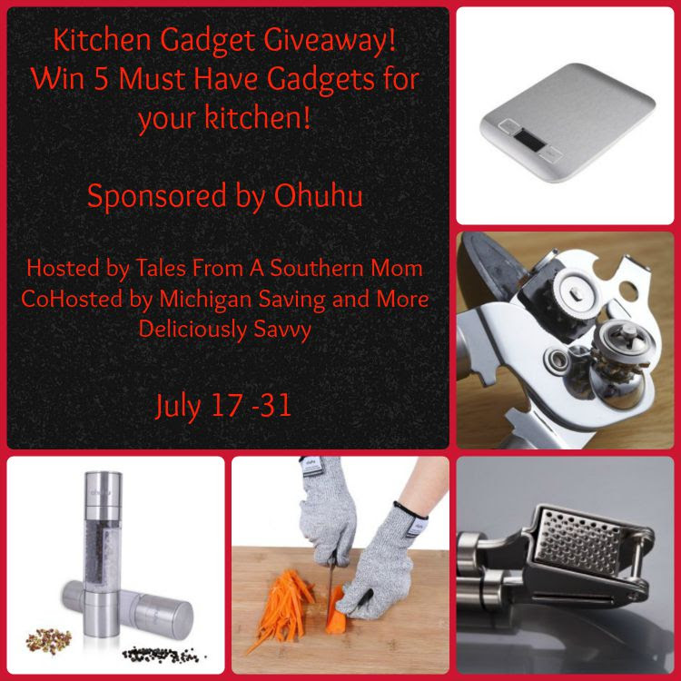 Enter the Kitchen Gadget Giveaway. Ends 7/31