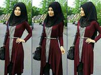 Baju Merah Marun Cocok Pake Kerudung Warna Apa