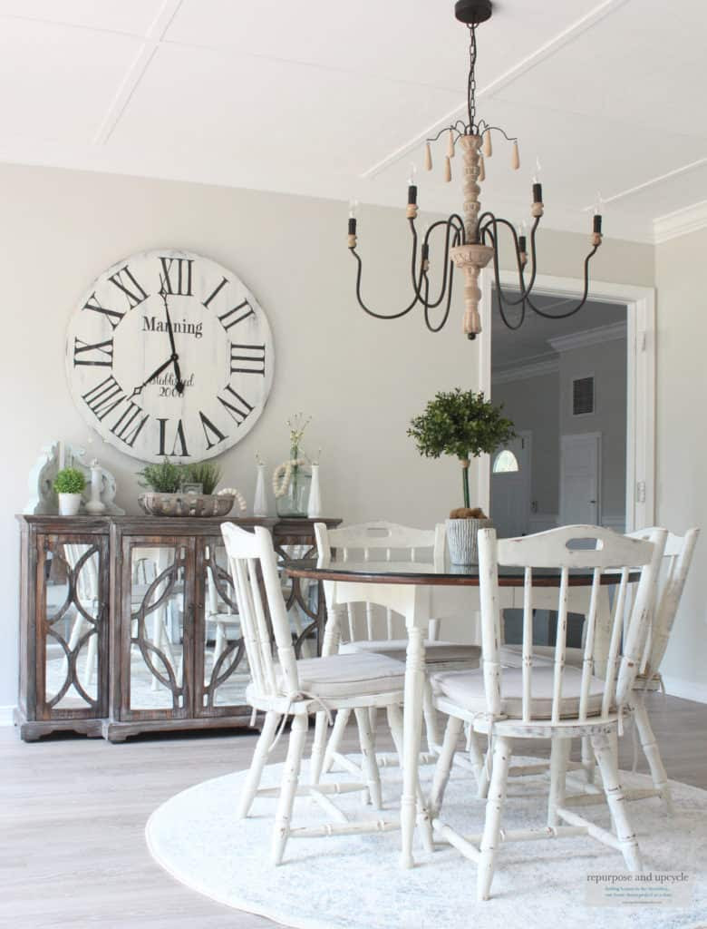 Rustic Beach Cottage Dining Room | Repurpose and Upcycle