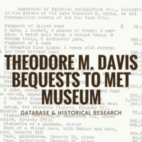 Theodore Davis Bequests to Met