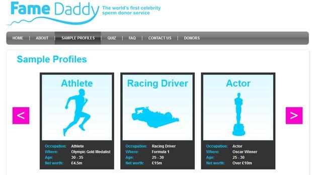 Clínica afirma que lista de doadores 'VIP' inclui atores de Hollywood, músicos e atletas (Foto: Reprodução)
