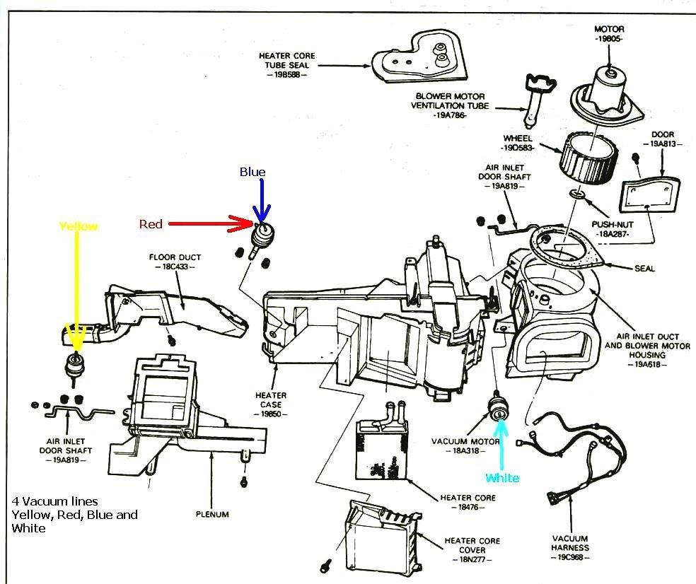2003 Jeep Grand Cherokee Vacuum Hose Diagram