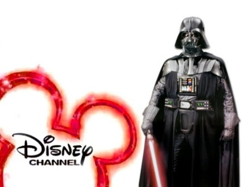 Hey I'm Darth Vader the Sith Lord and you're watching Disney Channel