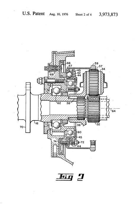 Patent US3973873 - Negative torque sensor for a gas