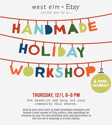 Handmade Holiday @ West Elm