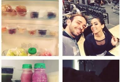 Anitta começa nova dieta para ganhar peso - Reprodução Instagram