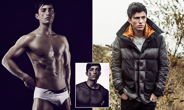 Christopher Kellie becomes one of Scotland's top models after popping to McDonald's