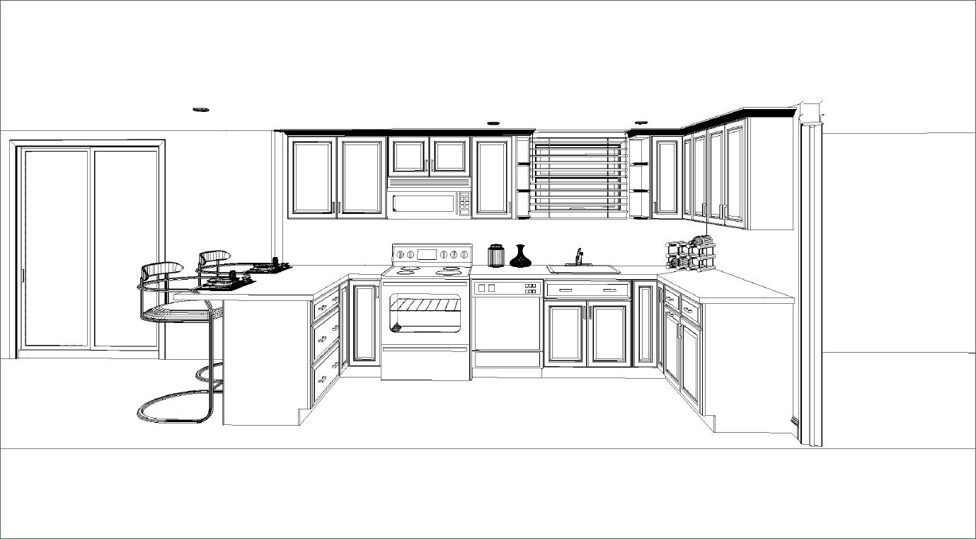 Professional Kitchen Layout Interior Design Ideas