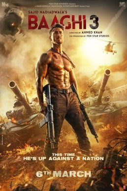 Baaghi 3 Full Movie Download in HD by movierulz, tamilrockers