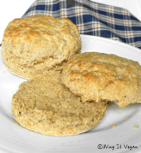 Whole Wheat Buttermilk Biscuits