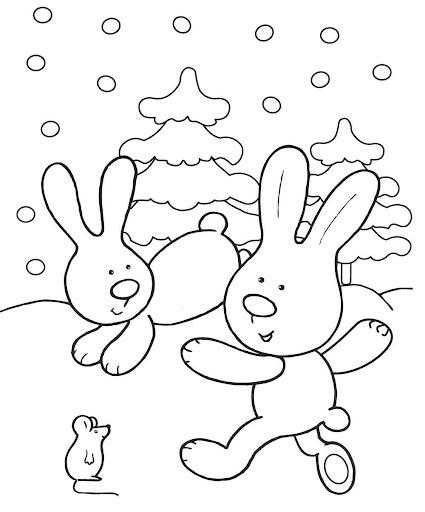 malvorlagen kostenlos ausmalbilder winter