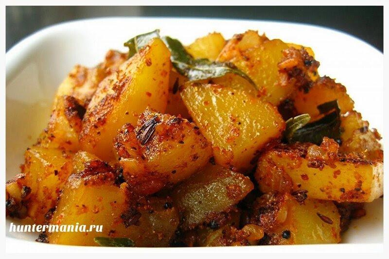 Картошка жареная в мультиварке (рецепт)