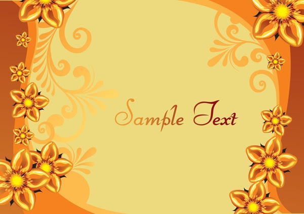Floral Background Vector Vector Floral Free Vector Free Download