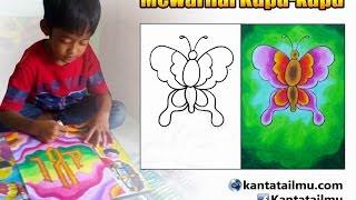 Mewarnai Bunga Menggunakan Krayon Pakvim Fastest Hd Video