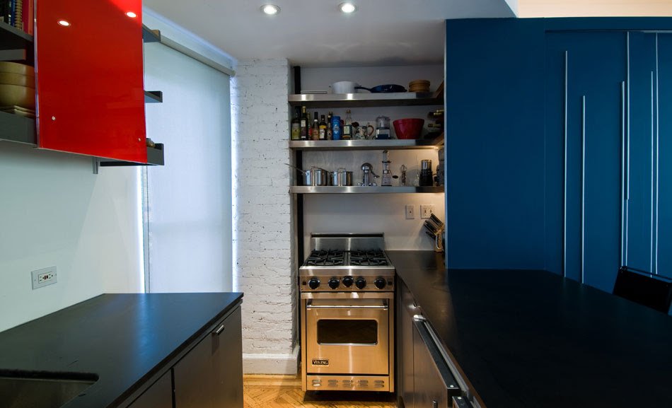 Small Apartment Kitchen Design