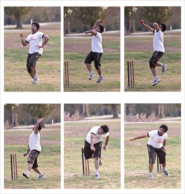 Cricket Bowler Composite