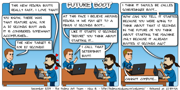 [fedora webcomic: future boot]