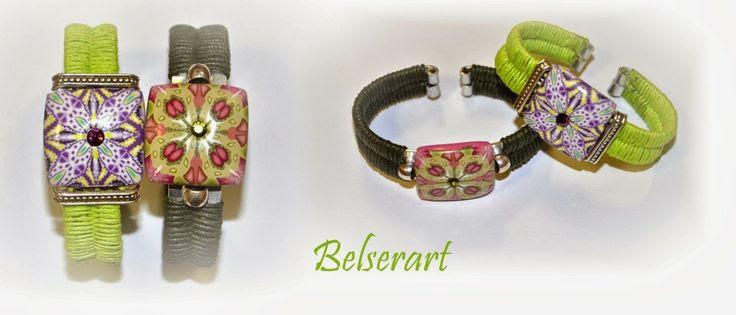 BelserArt: Pulseras-brazaletes en aluminio plano