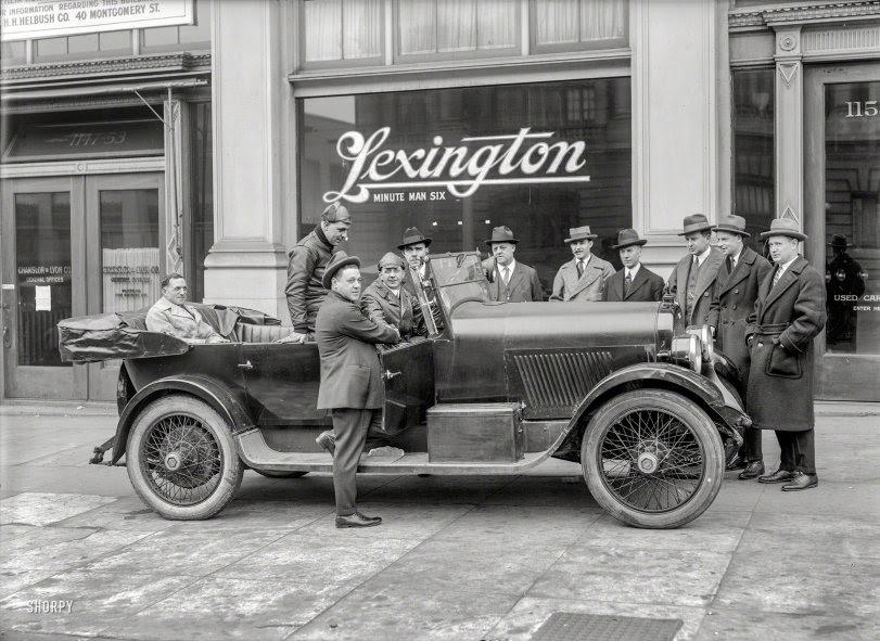 Minute Man Men: 1921
