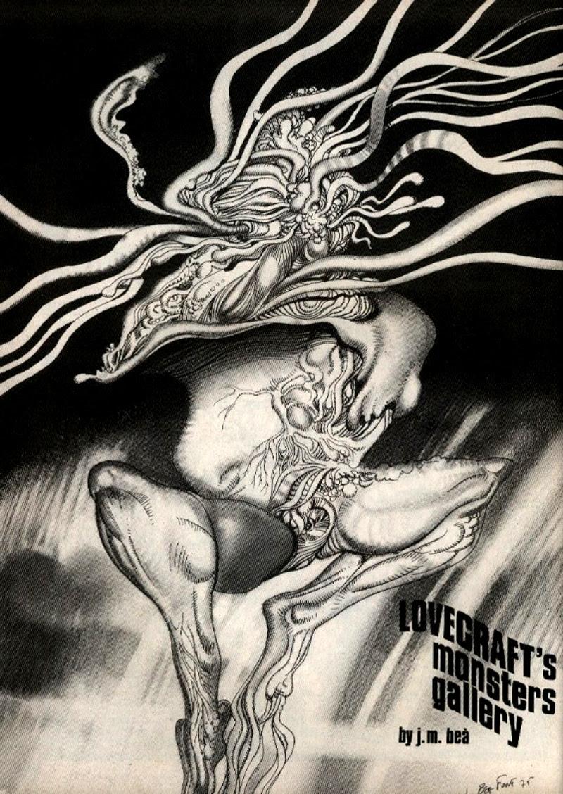 Josep M. Beá - Lovecraft Monster Gallery - 6