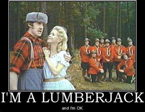 I'm a Lumberjack   Monty Python   Monty python, Python