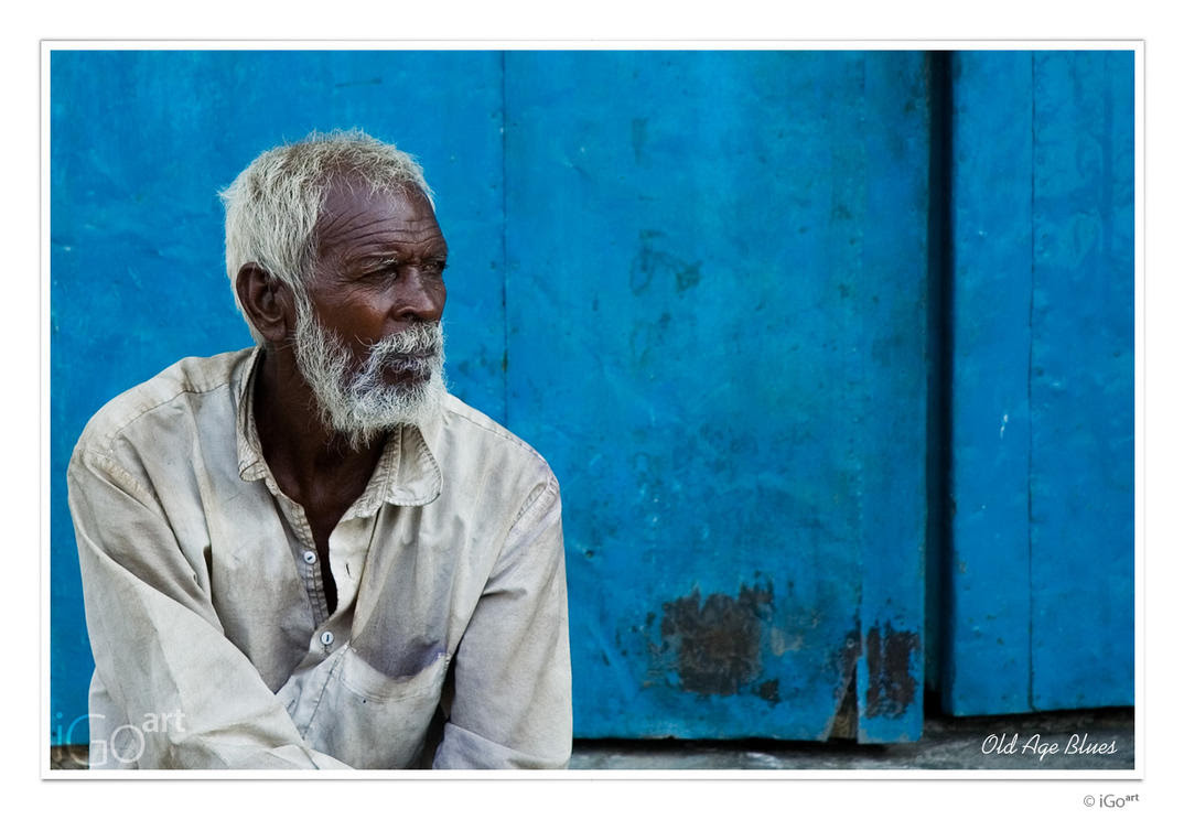Old Age Blues by igo