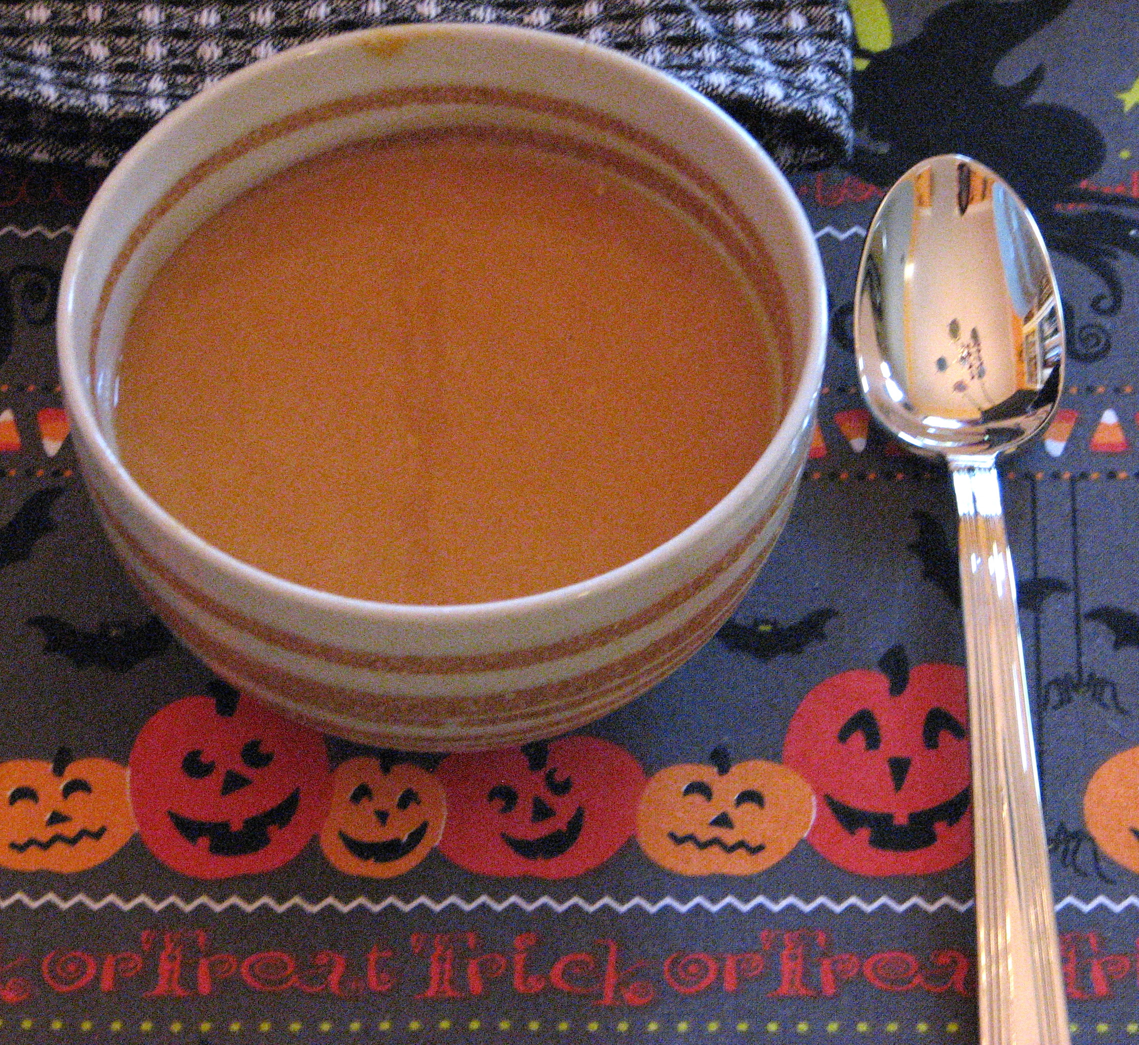 Pumpkin and White Bean Soup