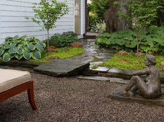 Birmingham, MI Private garden - Traditional - Landscape ...