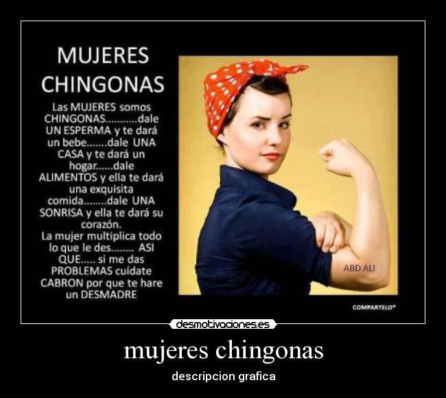 Mujeres Chingonas Desmotivaciones