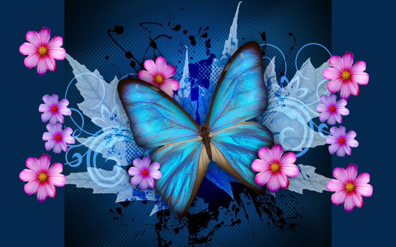 Butterfly Wallpapers for Laptop - WallpaperSafari