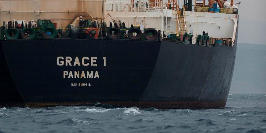 ΗΠΑ σε Αθήνα: Yποστήριξη τρομοκρατικής οργάνωσης τυχόν βοήθεια στο ιρανικό τάνκερ Grace 1