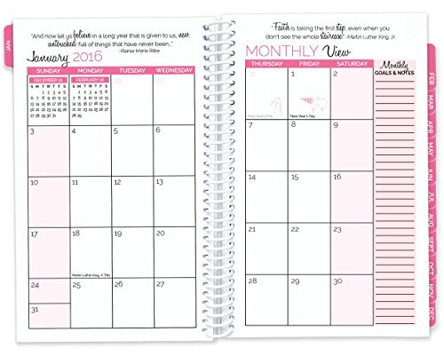 Bloom Daily Planners 2017 Calendar Year Daily Planner - Passion ...