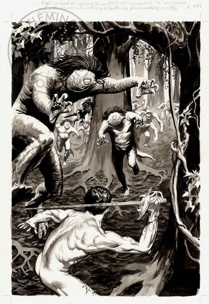 Thomas Yeates - John Carter Of Mars, Illustration 1